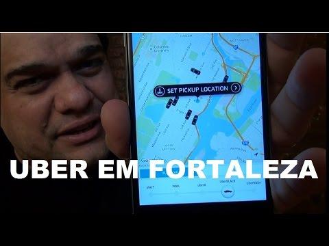 Uber começa a operar em Fortaleza. Tenha sua primeira corrida grátis