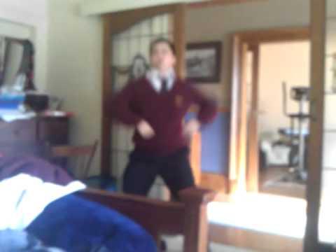 Asian Kid Dances to Big Booty Bitchez