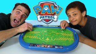 Paw Patrol Air Hockey Table  !    Toy Review    Konas2002