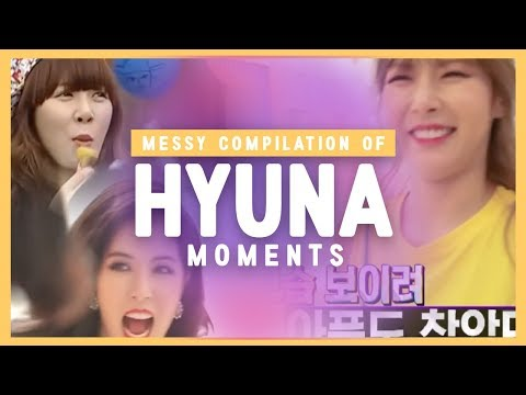 A messy compilation of Kim HyunA Best & Funny moments 1