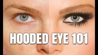 HOW TO MAKE HOODED EYES STAND OUT - WITHOUT CREASE WORK!!!!