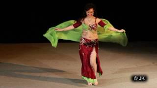 Belly Dance-Raks Sharki - Czech Miss Orient 2010.