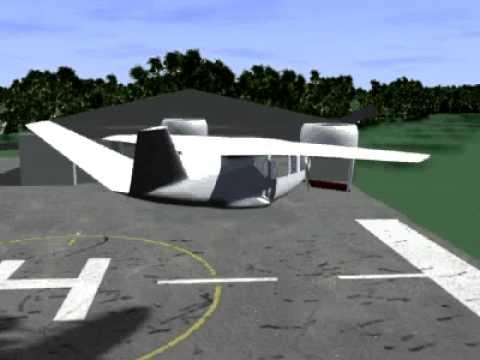 NASA Five Person VTOL Business Jet