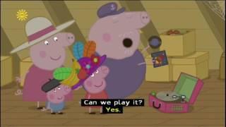 Peppa Pig (Series 2) - Granny and Grandpa's Attic (with subtitles)
