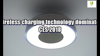 Wireless charging technology dominates CES 2018