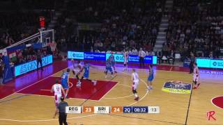 Play of the Game - Grissin Bon vs Brindisi: Jalen Reynolds