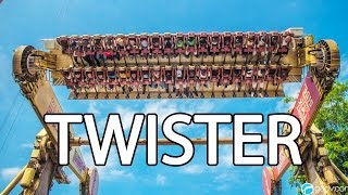 twister  six flags great adventure  7 inversions
