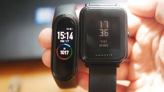 Mi Band 4 vs Amazfit Bip: Which is really better?