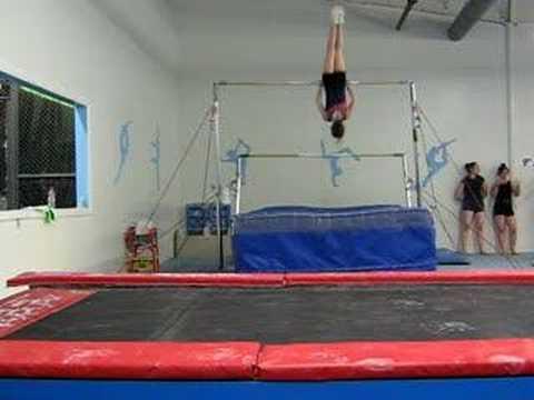 me at gymnastics