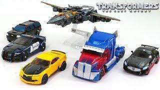 Transformers 5 TLK Optimus Prime Bumblebee Drift Megatron Barricade Berserker Car Vehicle Robot Toys
