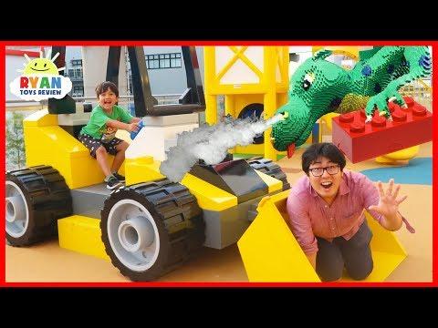 Legoland Hotel Tour Amusement Park Family Fun for kids