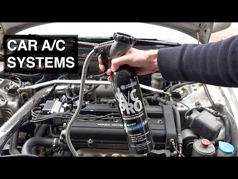 How Car AC Systems Work & How To Recharge Your AC System