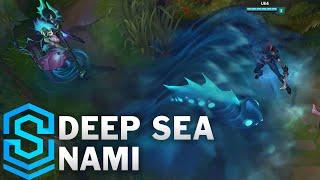 Deep Sea Nami Skin Spotlight - Pre-Release - League of Legends