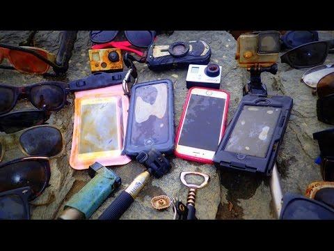 River Treasure 4 iPhones 2 GoPro s Pentax WG2 And MOAR