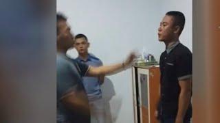 Viral, Video Kekerasan Polisi Aniaya Juniornya di Gorontalo