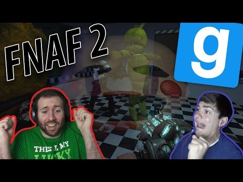 WE ARE ALL PUPPETS AT FREDDY'S | GMod Horror Maps: FNAF 2