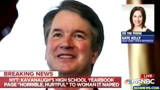 New Female Accuser Says Brett Kavanaugh