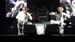 2CELLOS Voodoo People Salt Lake City (Live 2016 US Tour)