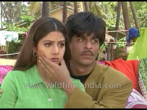 Xxx Mp4 Sridevi And Shah Rukh Khan On The Sets Of Army 3gp Sex