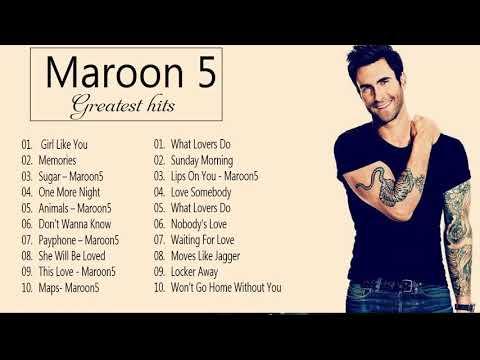 Maroon 5 Greatest Hits Full Album 2021 Maroon 5 Best Songs Playlist 2021
