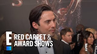 Milo Ventimiglia Brings Papa Bear Wisdom to the 2017 Emmys | E! Live from the Red Carpet