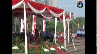 17 Agsts 2014 Gub Jokowi Wagub  Sebagai Irup Peringatan HUT Ke 69 Proklamasi Kemerdekaan RI