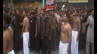 9 Muharram Zanjeerzani by Sangat lajpal ya Hussain a.s in Saddar bazar