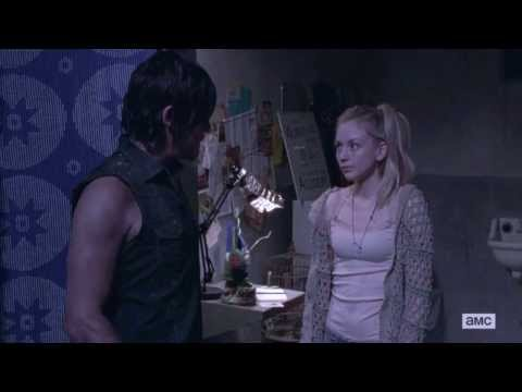 The Walking Dead 4x01 — Beth and Daryl