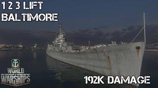 World of Warships - 1 2 3 Lift - Baltimore
