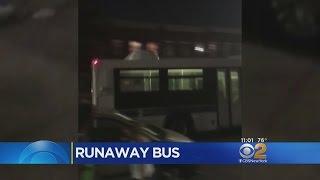 Driver Suspended After MTA Bus Rolls Backward Down Brooklyn Block
