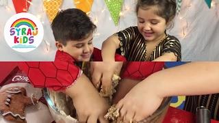 How to Make EID Al FITR CAKES   كيفية صنع كعك العيد   Zaina & Laith   Happy Ramadan Kids