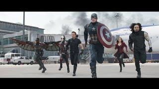 Kapitan Ameryka: Wojna bohaterów - oficjalny zwiastun Blu-ray 3D, Blu-ray i DVD (dubbing)