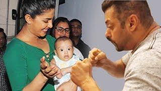 (VIDEO) Salman Khan & Priyanka Chopra's PLAYS With Nephew Ahil | Bollywood News 05th July