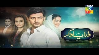 Zara Yaad Kar Episode 17 Full HD 5 July 2016