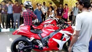 Super bikes & Rolls Royce in Christ university Bangalore