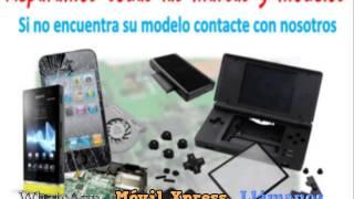 Reparacion Pantalla+ tapa trasera rosa iPhone 5C Reparaciónes Móvil Xpress Torrent Reparar Moviles