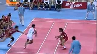 kabaddi what a technique 2010 Asian Games  Kabaddi   Final  Iran vs India