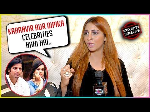 Arshi Khan INSULTS Dipika Kakar & Karanvir Bohra | EXCLUSIVE INTERVIEW