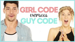 GUY CODE VS GIRL CODE w/ yomuscleboii & Meghan Rienks