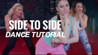 Side To Side - Ariana Grande  | Dance Tutorial - HIP HOP // Step by Step for Beginners