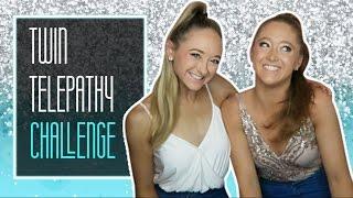 Twin Telepathy Challenge! | The Rybka Twins
