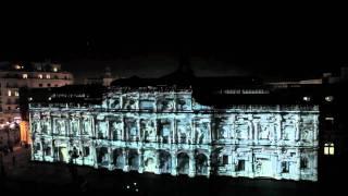 Espectáculo Audiovisual de Navidad. Oficial. Mapping 3D Ayuntamiento Sevilla. Vídeo completo