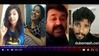 Malayalam Actors-Actress Viral Dubsmash Videos
