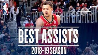 Trae Young's Best Assists | 2018-19 Season | #NBAAssistWeek