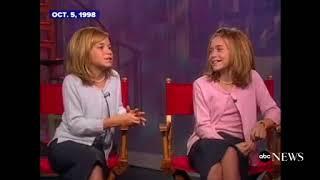 Oct 5, 1998 The Olsen twins on schoolwork script work