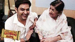 Lata Mangeshkar on Comedy Nights With Kapil 27 April 2014 FULL EPISODE