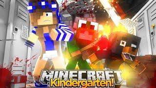 Minecraft Kindergarten - LITTLE LIZARDS EVIL PRANK!!
