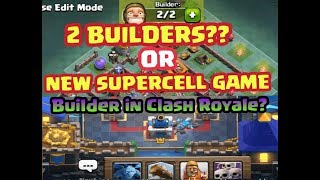 NEW SUPERCELL GAME ?? WHAT HAPPENED TO THE BUILDER !!WHERE DID HE GO?? COC NEW UPDATE