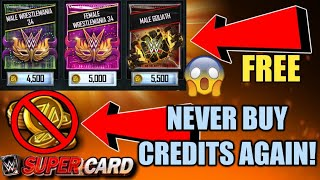 HOW TO GET FREE CREDITS FOR WWE SUPERCARD SEASON 4 TO BUY SUMMERSLAM