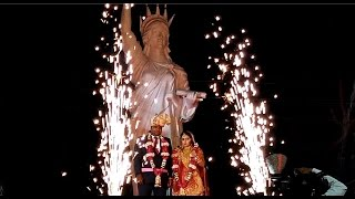 ऐसी जयमाला देखी नहीं होगी | Jaimala in Indian wedding with statue of liberty stage